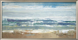 Pastel Waves Framed Giclee Print by Peter Colbert
