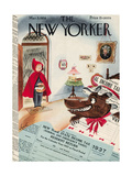 The New Yorker Cover - March 5, 1938 Premium Giclee Print by Constantin Alajalov