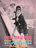 Best Friends Plakietka emaliowana