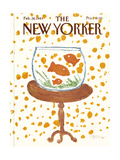 The New Yorker Cover - February 28, 1983 Premium Giclee Print by Robert Tallon
