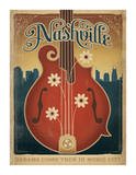 Flower Mandolin Posters