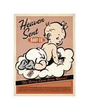Heaven Sent Girl Giclee Print