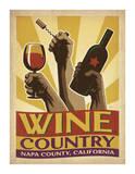 Wine Country Giclee Print