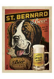 St. Bernard Beer Art by  Anderson Design Group