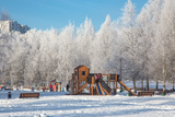 Winter Playground Photographic Print by  Atuan