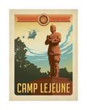 Camp Le June Print