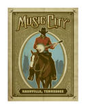 Music City Horse Posters
