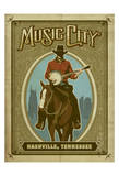 Music City Horse Art by  Anderson Design Group