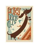 Foxy Doxie Giclee Print