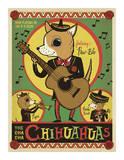 Cha Cha Chihuahua Giclee Print