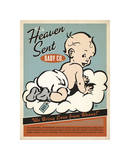 Heaven Sent Boy Giclee Print