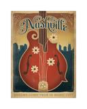 Flower Mandolin Giclee Print