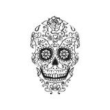 Mexican Sugar Skull Illustration Prints by  icafreitas