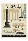 Berlin Mod Posters by  Anderson Design Group