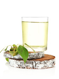 Glasses of Birch Sap, Isolated on White Photographic Print by Africa Studio