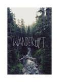 Wanderlust: Rainier Creek Giclee Print by Leah Flores