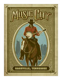 Music City Horse Prints