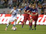 MLS: Chicago Fire at Los Angeles Galaxy Photo by Kirby Lee
