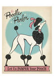 Poodle Parlor Posters by  Anderson Design Group