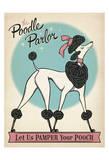 Poodle Parlor Posters