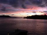 Vanuatu Sunset Fotografisk tryk af Michael Harrison