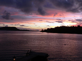 Vanuatu Sunset Photographic Print by Michael Harrison