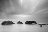 Stones in the Sea Photographic Print by  baltskars