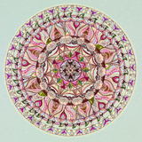 Colorful Mandala Design Art by  shotsstudio