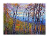 Utah Aspens Giclee Print by Erin Hanson