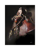 Bits, Bridles and Spurs Giclee Print by Barry Hart