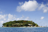 Hideaway Island in Vanuatu Photographic Print by John Sones