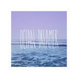 Ocean Dreamer Giclee Print by Leah Flores