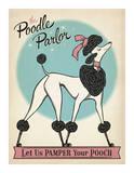 Poodle Parlor Print