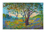 Impression Giclee Print by Erin Hanson