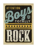 Boys Rock Posters