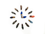 Three O'clock Meeting Shoes Photographic Print by  shotsstudio