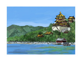 Cg Painting the Summer Palace Prints by  jim80