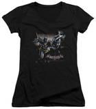 Juniors: Batman: Arkham Knight - Grapple V-Neck Shirts