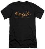Batman: Arkham Knight - Arkham Knight Flame Logo (slim fit) Shirts