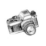 Sketch Camera Print by  jim80