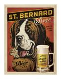 St. Bernard Beer Giclee Print