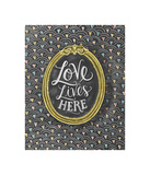 Love Lives Here Giclee Print
