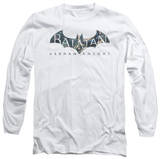 Long Sleeve: Baman Arkham Knight - Descending Logo T-Shirt