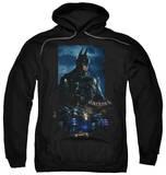 Hoodie: Batman: Arkham Knight - Batmobile Pullover Hoodie