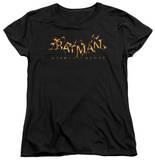 Womans: Batman: Arkham Knight - Arkham Knight Flame Logo T-shirts
