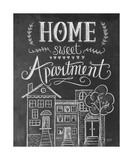 Home Sweet Apartment Giclee Print