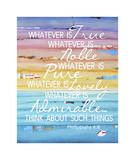 Whatever Is True Giclee Print by Danny Phillips