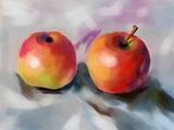 Cg Painting Apple Posters par  jim80