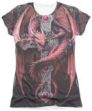 Juniors: Anne Stokes - Gothic Guardian T-Shirt