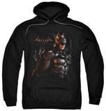 Hoodie: Batman: Arkham Knight - Dark Knight Pullover Hoodie